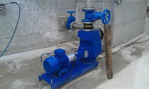 Pompe KSB bleue 1
